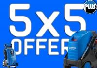5x5 Offer from PWS - Our Version of Black Friday